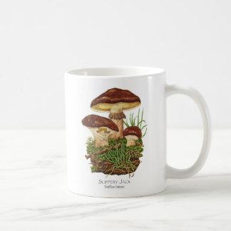 Taza de café resbaladiza de la seta de Jack