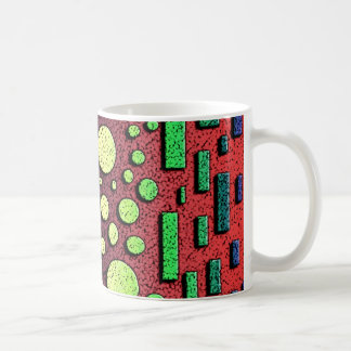 Taza de café retra