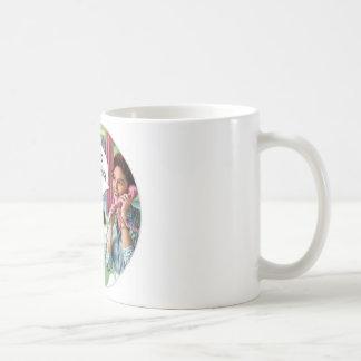 Taza de café retra divertida 1