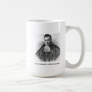 Taza de café reverenda de Thomas Bayes
