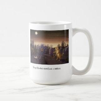 taza de café - rey Charles el gato