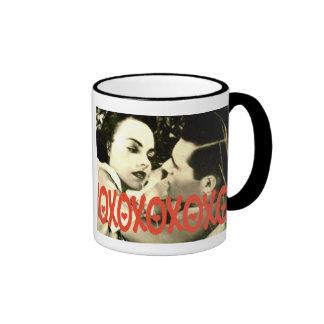 Taza de café romántica