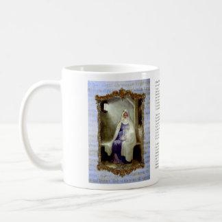 Taza de café santa de la noche de O