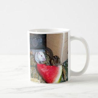 Taza de café siberiana del Chipmunk