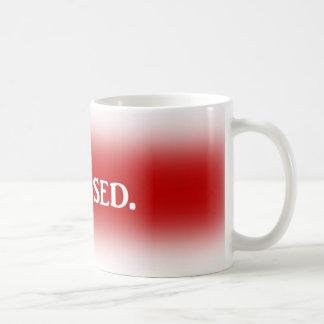 Taza de café subrayada