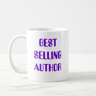 Taza de café superventas del autor