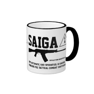Taza de café táctica de la escopeta del combate de