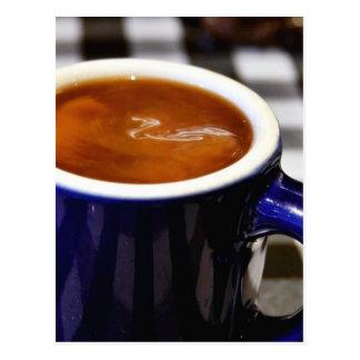 Taza de café tarjetas postales