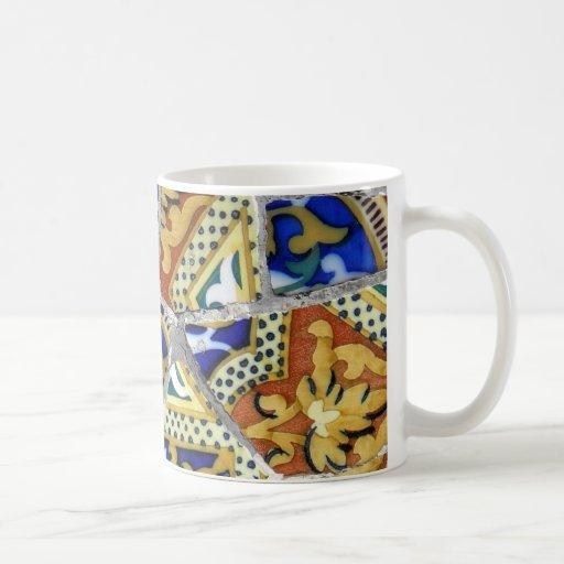 Taza de café tejada
