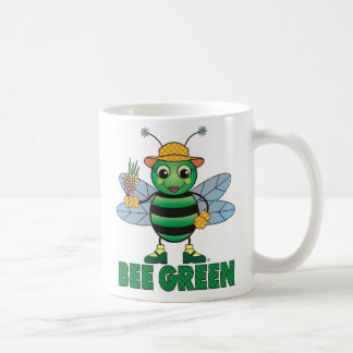 Taza de café verde de la ABEJA