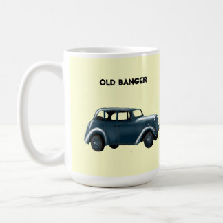 Taza de café vieja del Banger