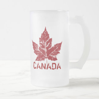 Taza de Canadá del vidrio de cerveza del recuerdo