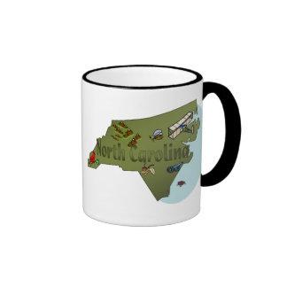 Taza de Carolina del Norte