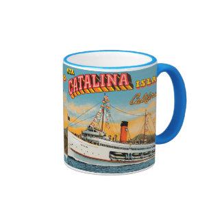Taza de Catalina del buque de vapor