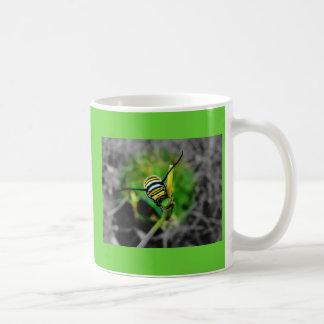 Taza de Catterpillar del monarca