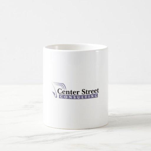 Taza de centro de la calle