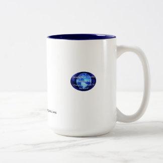 taza de cerámica blanca de la sublimación de la fo