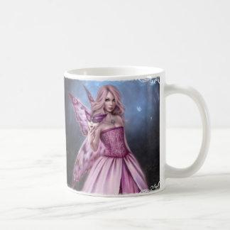 Taza de cerámica de la reina de hadas de la