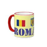 Taza de cerámica de Rumania