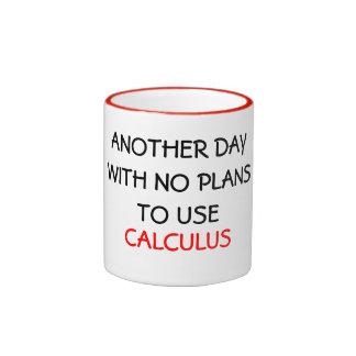 Taza de cerámica del CÁLCULO