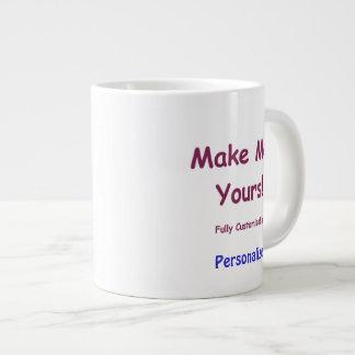 Taza de cerámica enorme de encargo para personaliz tazas jumbo