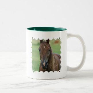 Taza de cerámica excelente de Cofee del caballo de
