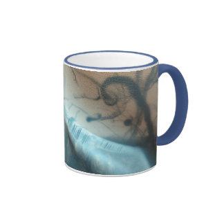 Taza de cerámica tatuada de Marte
