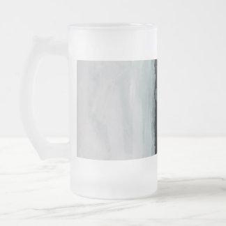 Taza de cerveza abstracta de la pintura de los gol