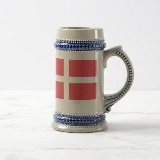 Taza de cerveza danesa