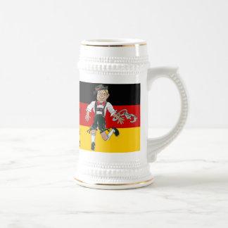 Taza de cerveza de Alemania del fiesta de