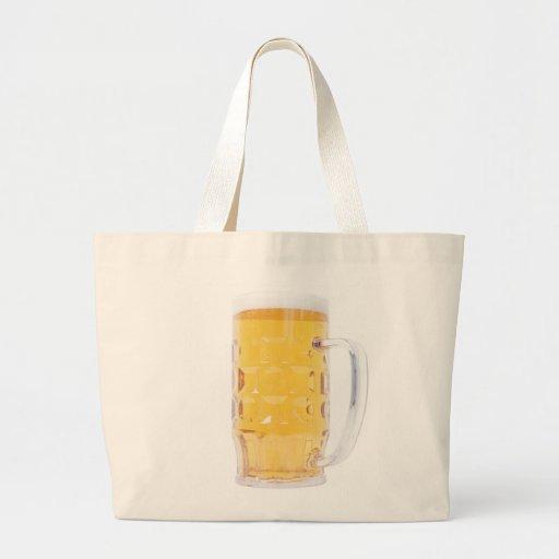 Taza de cerveza de Bierkrug Bolsa Lienzo