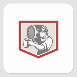 Taza de cerveza de colada de elevación del barril