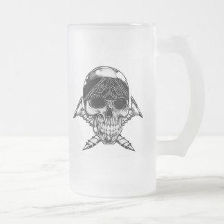 Taza de cerveza de la cabeza de tornillo
