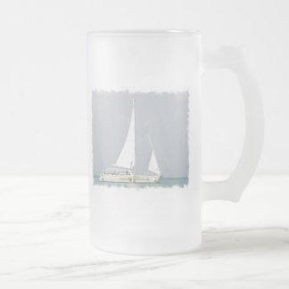 Taza de cerveza de la embarcación de recreo