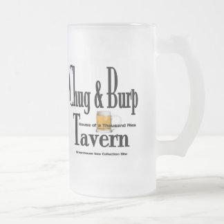 Taza de cerveza de la taberna del Chug y del Burp