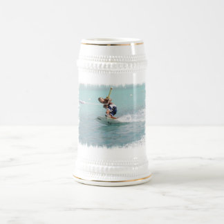 Taza de cerveza de la vuelta de Wakeboarding