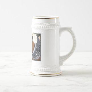 Taza de cerveza de los caballos de proyecto de Cly