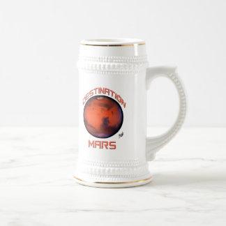 Taza de cerveza de Marte del destino