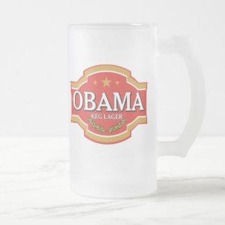 Taza de cerveza de Obama