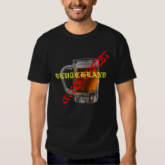 Taza de cerveza de Oktoberfest Deutchland Camisas