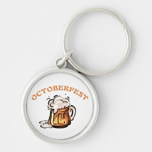 Taza de cerveza de Oktoberfest Octoberfest Llavero