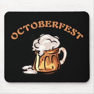 Taza de cerveza de Oktoberfest Octoberfest Alfombrilla De Ratón
