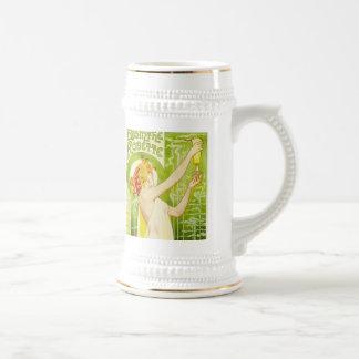Taza de cerveza de Robette del ajenjo de Alfonso