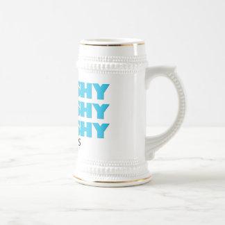 Taza de cerveza de Splooshy Splooshy Splooshy