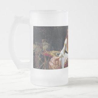 Taza de cerveza del arte 16oz de señora Of Shallot