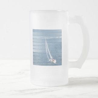 Taza de cerveza del diseño del viento de la navega