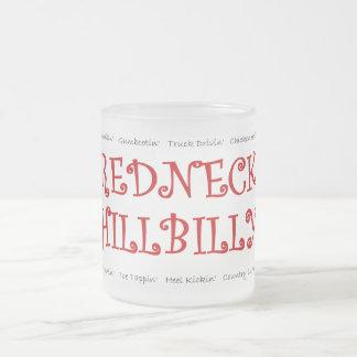 Taza de cerveza del Hillbilly del campesino sureño