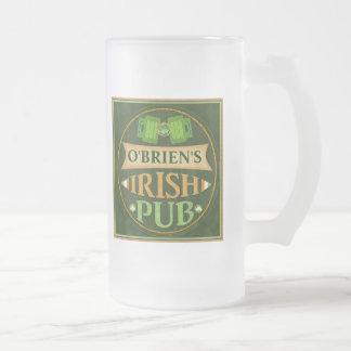 Taza de cerveza del Pub de St Patrick de
