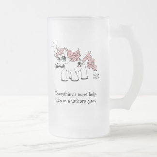 Taza de cerveza del unicornio