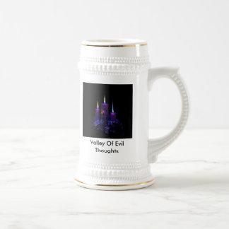 taza de cerveza del valle